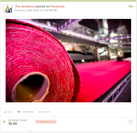 The Oscars: Content and event marketing 3