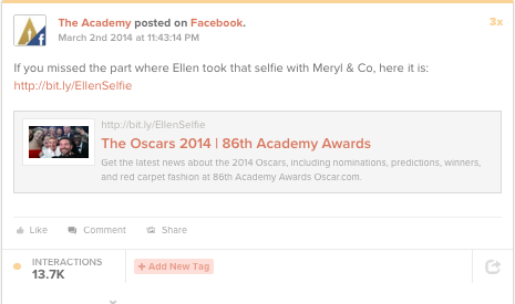 The Oscars: Content and event marketing 1