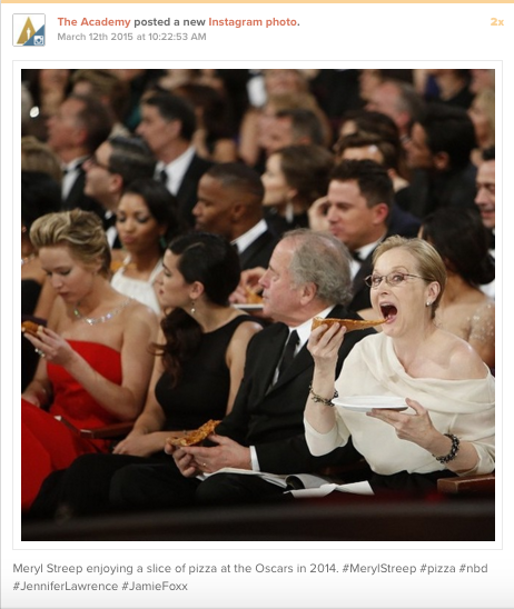 The Oscars: Content and event marketing 4