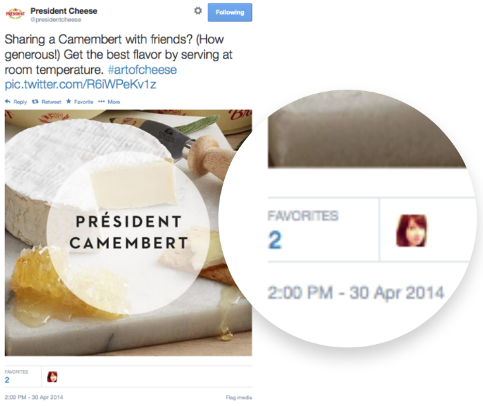 History of content marketing: President Cheese