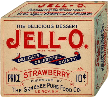 History of content marketing: Jell-O