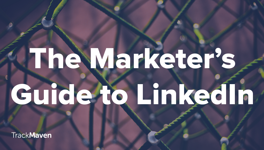 marketers guide to linkedin blog twitter graphic