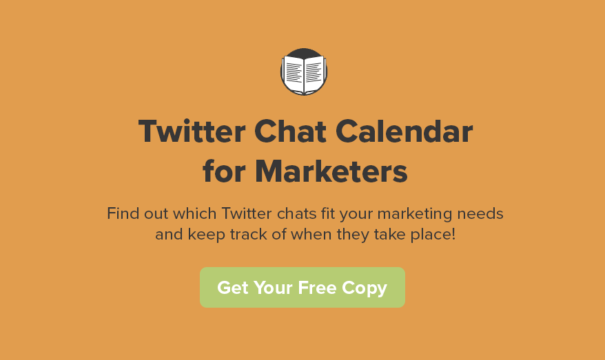 TrackMaven Twitter Chat Calendar for Marketers